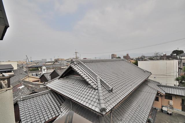 東大阪市上小阪4丁目の賃貸マンション バルコニーからの眺めも良いです。