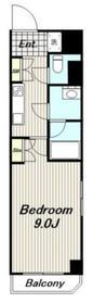 SAKURAイムスタック3階Fの間取り画像