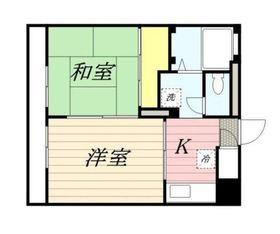 シェ・ソワ2階Fの間取り画像