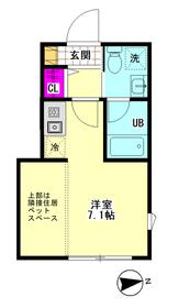 Aix羽田 101号室