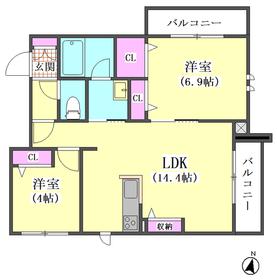 仮)下丸子1丁目シャーメゾン 302号室