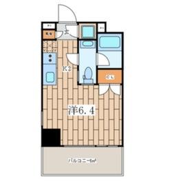 Premium Residennce Kawasaki9階Fの間取り画像