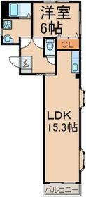 間取り図!1LDKにリノベーション!!