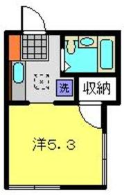 SAMOA HOUSE1階Fの間取り画像
