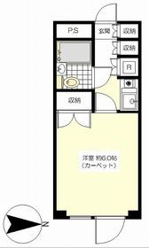 MGB桜新町2階Fの間取り画像