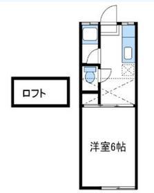 フォーベル鶴巻2階Fの間取り画像