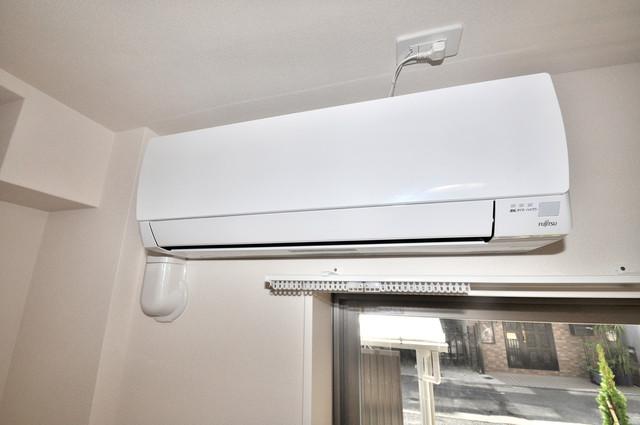 エイチ・ツーオー布施 うれしいエアコン標準装備。快適な生活が送れそうです。