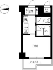 スカイコート文京小石川3階Fの間取り画像