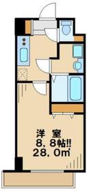 グランコンフォール4階Fの間取り画像