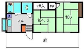鈴木貸家1階Fの間取り画像
