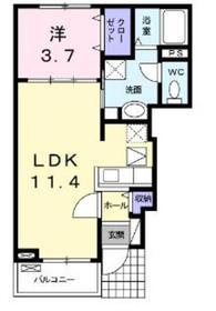 相模大塚駅 徒歩13分1階Fの間取り画像