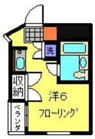 サンライト日吉2階Fの間取り画像