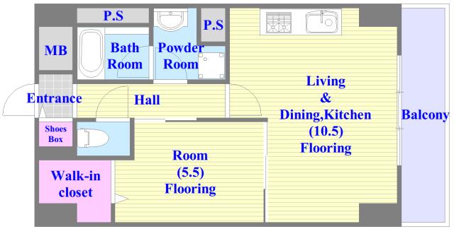 オリーブスクエア 人気の全室フローリング。収納スペースも充実しています。