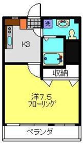 高田駅 徒歩26分6階Fの間取り画像