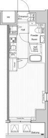 ヴェルシード阪東橋マキシヴ8階Fの間取り画像