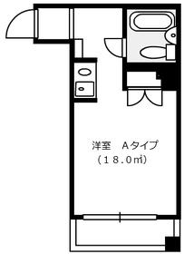 アテネハイム3階Fの間取り画像