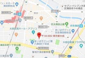 ガーラ蒲田案内図