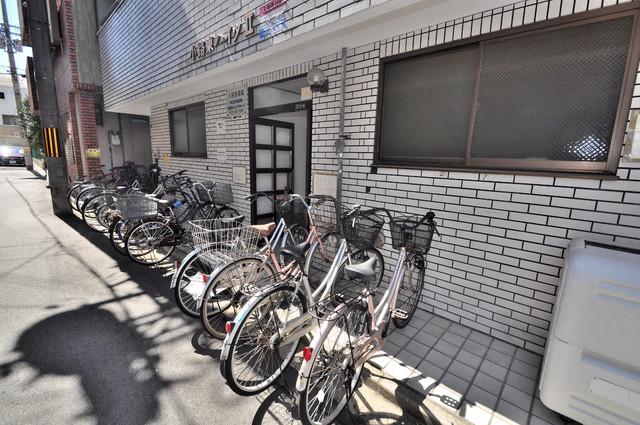 小路東ハイツⅡ あなたの大事な自転車も安心してとめることができますね。