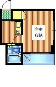 ファミール山室5階Fの間取り画像