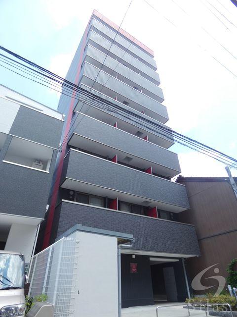 大阪市生野区新今里3丁目の賃貸マンションの外観