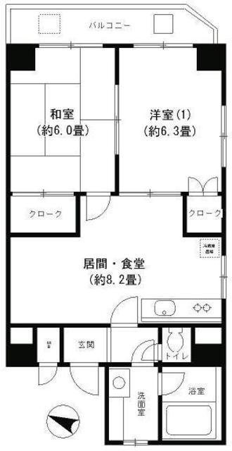 ピュアハイム本田 間取り図
