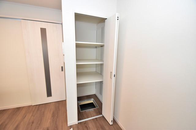 ハイツ ニッサク  もちろん収納スペースも確保。いたれりつくせりのお部屋です。