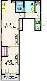 (仮称)東尾久3丁目メゾン3階Fの間取り画像