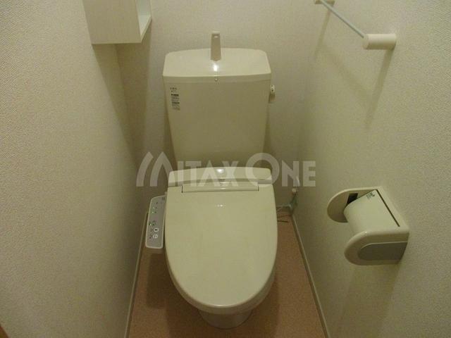 ベルアルモニービー(ベルアルモニーB)トイレ