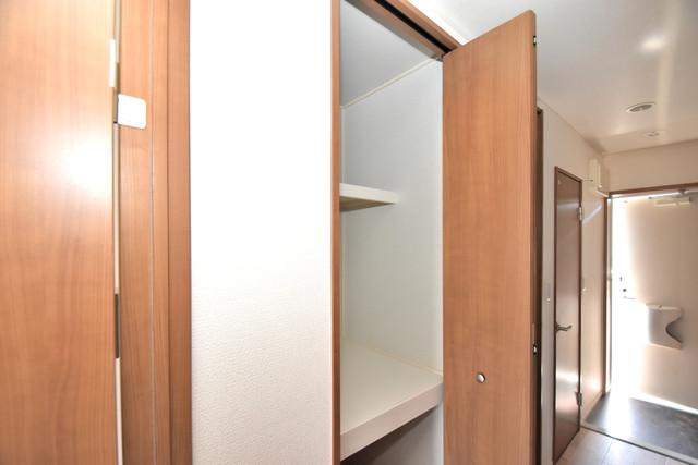 ラヴィ・クレール もちろん収納スペースも確保。いたれりつくせりのお部屋です。
