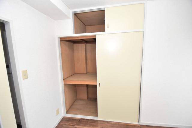 スマイルハイツ巽東 もちろん収納スペースも確保。いたれりつくせりのお部屋です。