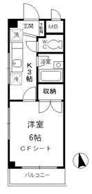 パル和光3階Fの間取り画像