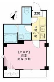 アンファミーユ2階Fの間取り画像
