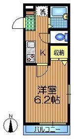 モネー代田3階Fの間取り画像