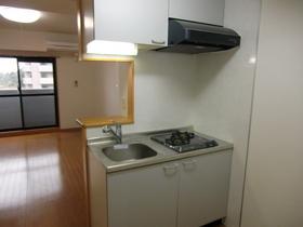 2口ガスコンロ付キッチン
