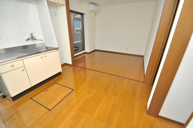 カーサ布施Ⅱ 明るいお部屋はゆったりとしていて、心地よい空間です