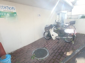 メゾンドフォンテン駐車場