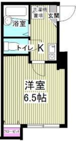 リバーサイド滝頭B棟3階Fの間取り画像
