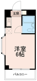 トップ稲城(TOP稲城)5階Fの間取り画像