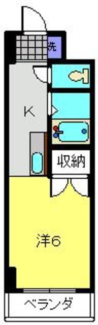 和田町駅 徒歩20分間取図