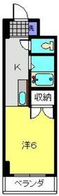 三ッ沢上町駅 徒歩17分1階Fの間取り画像