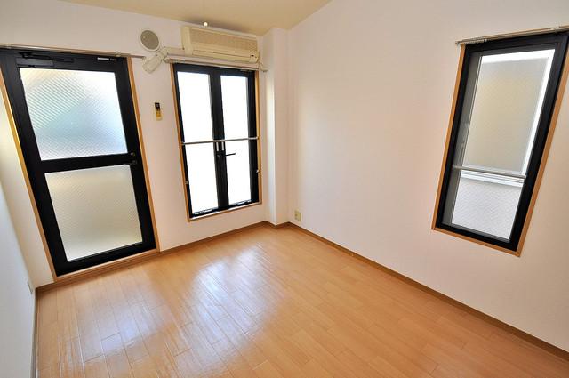 ロンモンターニュ小阪 明るいお部屋は風通しも良く、心地よい気分になります。