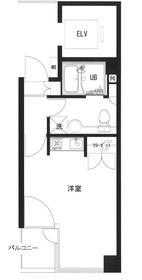 千代田タワーアネックス4階Fの間取り画像