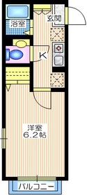 エル・シャルマン1階Fの間取り画像