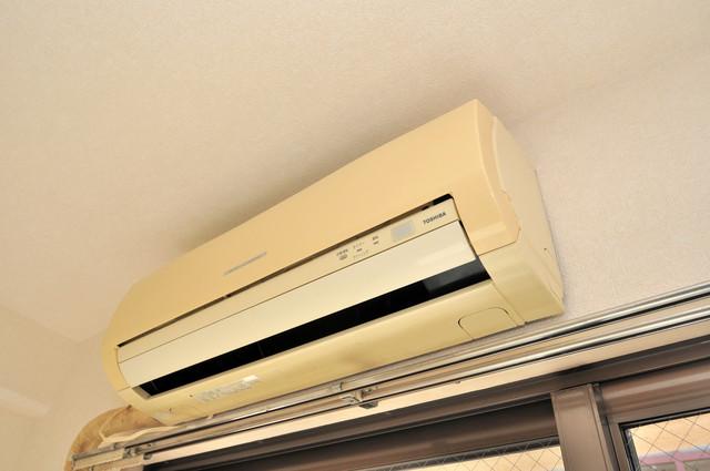 グランピア布施 最初からエアコンが付いているなんてお得ですね