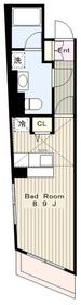 Hoyt Abode ホイト・アボード5階Fの間取り画像