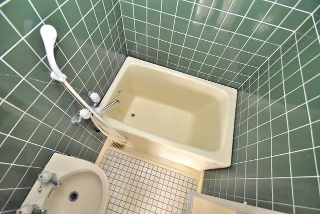 マンションSGI今里ロータリー ゆったりサイズのお風呂は落ちつける癒しの空間です。