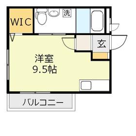 ブリエ2階Fの間取り画像