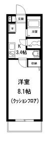 メゾン エル1階Fの間取り画像