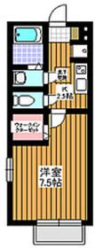 グランメール2階Fの間取り画像
