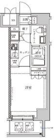セジョリ横浜鶴見II9階Fの間取り画像